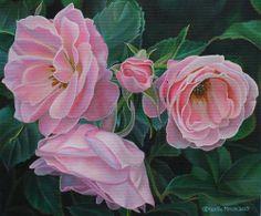 """""""Mothers Day"""" - Original Fine Art for Sale - © Leslie Macon"""