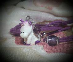 """Collana con unicorno: """"DREAM"""""""