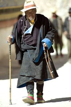 Old Man, Tibet by Not so fast, via flickr* Arielle Gabriel writes about miracles and travel in The Goddess of Mercy & The Dept of Miracles also free China toys and paper dolls at The China Adventures of Arielle Gabriel *
