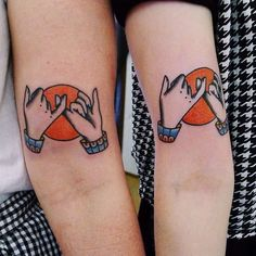 Ideas For Adorable Matching Couple Tattoos - Matching tattoos are a promise made…