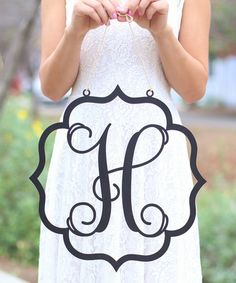 Loving this Personalized Initial Wall Hanging on #zulily! #zulilyfinds