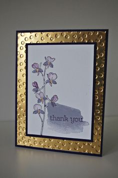 stampin up happy watercolor gold
