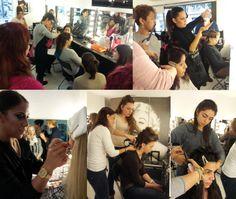 Temarios de #peluqueria en el curso profesional de #maquillaje