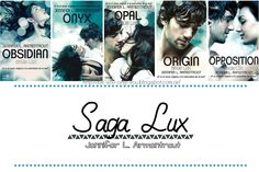 Be you, only you: #Libros: Saga Lux - Jennifer L. Armentrout