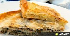 Hungarian Recipes, Spanakopita, Street Food, Bagel, Apple Pie, Lasagna, Grilling, Food And Drink, Favorite Recipes