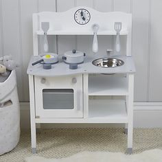 Wooden Kitchen Toy | Wooden Toys | Toys & Books | The Little White Company | The White Company UK