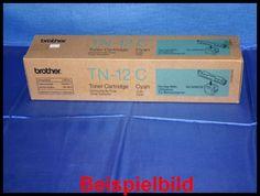 Brother TN-12C Lasertoner Cyan / Blau -A  - für Brother HL-4200CN    Zur Nutzung für private Auktionen z.B. bei Ebay. Gewerbliche Nutzung von Mitbewerbern nicht gestattet. Toner kann auch uns unter www.wir-kaufen-toner.de angeboten werden.