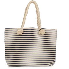 Joie Perfect Canvas Beach Tote (7965 ALL) ❤ liked on Polyvore featuring bags, handbags, tote bags, navy stripe, totes, canvas tote bags, pink canvas tote bag, striped beach tote bag, beach tote bags and striped canvas tote
