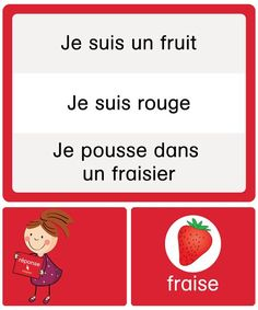Résous les devinettes Core French, French Class, French Lessons, School Organisation, French Education, French Resources, Reading Centers, Language Development, Teaching French