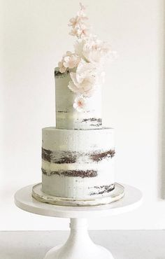 Featured Wedding Cake: Jenna Rae Cakes;www.jennaraecakes.com