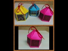 Origami Frame + Bow for Mix & Match Gift Box DIY - YouTube