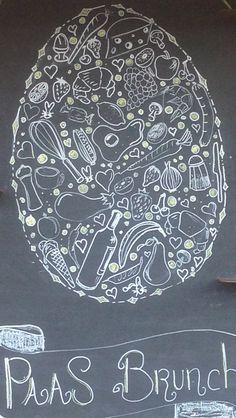Blackboard eastern, Pasen paasbrunch