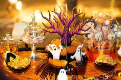 Halloween table snack