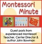 Guidance for how to use Montessori methods and ideas with my littles.
