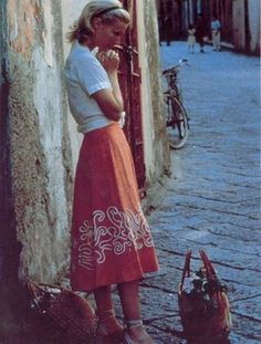 50's italia.... could be made w/ribbon manipulated into designs pulled from different types of cultural art/writings/architecture etc.