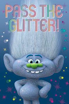 Póster Guy Diamond. Trolls, 61 x 91,5 cm  Póster perteneciente a la película de animación Trolls.
