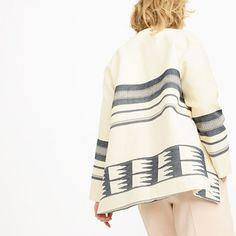 J.Crew - Collection blanket jacket