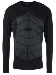 EMPORIO ARMANI Printed Sweatshirt. #emporioarmani #cloth #sweatshirt