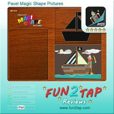 Paxel Magic Shape Pictures - A shapely way to make pictures. Full review at: http://fun2tap.com/index.cfm#id2410 --------------------------------------------- #apps #iosApps #iPad #iPhone #games