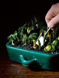 Garden salad with sauce gribiche recipe