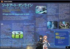 """Maquetacion y diagramacion para una central de la revista """"AnimeXion"""" Curso: Diseño Grafico 2"""