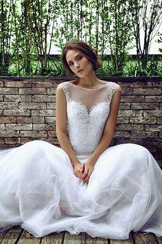 Casamento - Vestido de Noiva bordado tule (Vestido: Nova Noiva | Foto: Ivan Erick)