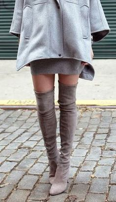 8be2c2666a9 Knee high boots Over The Knee Boot Outfit