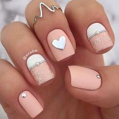 25 Beautiful Nails You Need To See Right Now - Nail Art HQ #nailart