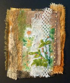 Linda Vincent: mixed-media collage