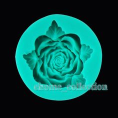 Romantic 3D 1PCS Rose Flower with Leaves Shapes Fondant Mold Silicone Sugar Craft Cake Decorating DIY Mould Baking Tools(China (Mainland))
