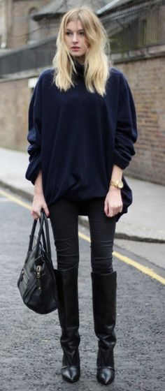 black & blue (great boots)