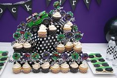 Pirates & Princesses: Brock's Monster Truck 4th Birthday Party