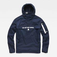 3c550e093239 Rackam Deconstructed Hooded Anorak Jacket   G-Star RAW® Anorak Jacket,  Blazer Jacket