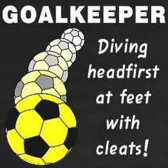During soccer training, you are introduced to many different things. While many of these things focus on technique, speed is an important element in soccer as well. However, it is not the most important component to the game. Soccer Goalie, Soccer Memes, Soccer Gear, Soccer Drills, Soccer Quotes, Play Soccer, Soccer Shirts, Soccer Players, Soccer Ball