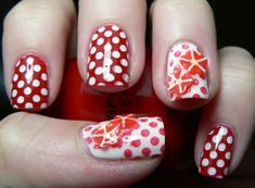 Fimo Nail Art - Acrylic Nails For more image visit  http://www.naildesignspro.com/top-nail-art-designs-2014/