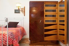 House in Porto II, Double bedroom | Photo by: Francisco Rivotti | Porto | Skike Design