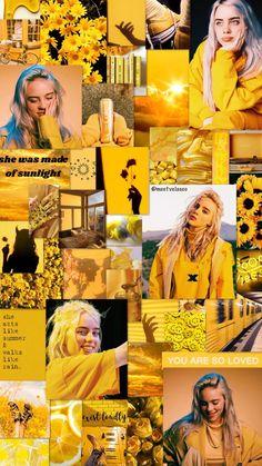 mom wallpaper billie eilish lockscreen wallpaper f - mom Wallpaper Sky, Iphone Wallpaper Yellow, Cute Emoji Wallpaper, Funny Iphone Wallpaper, Cute Cartoon Wallpapers, Amazing Wallpaper, Wallpaper Lockscreen, Yellow Aesthetic Pastel, Aesthetic Pastel Wallpaper