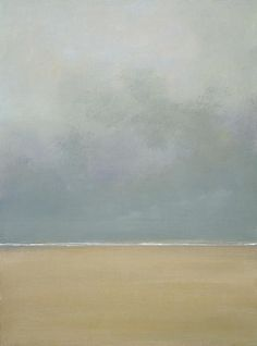 """modijeanne: """"~ Anything can happen in a world that holds such beauty ~ Peter Soyer Beagle - American writer Infinity, by Anne Packard - American artist """" Watercolor Landscape, Landscape Art, Landscape Paintings, Sky Painting, Seascape Paintings, Water Art, Monochrom, Beach Art, American Artists"""