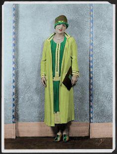 Green flapper