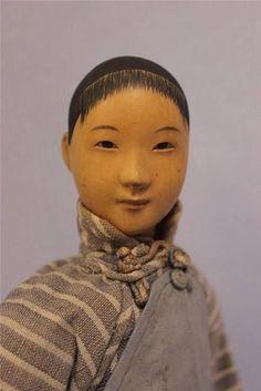 """10.5"""" Antique DOOR of HOPE 1920s NURSE Rare Female Doll ALL ..."""
