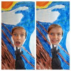 Dandelions Picked: Artist Study: Edvard Munch