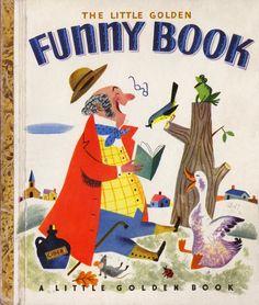1950 Little Golden book illustrated by JP Miller