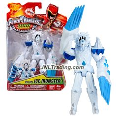Bandai Year 2016 Saban's Power Rangers Dino Super Charge Series 6 Inch Tall Action Figure - Villain ICE MONSTER
