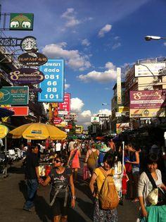 Khao San Road Khao San Road, Bangkok Thailand, My Memory, Phuket, Just Do It, Mother Nature, Places Ive Been, Vietnam, Times Square