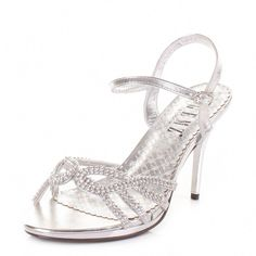8fe9e20e1bb   Womens Silver Diamante Mid Heel Strappy Prom Wedding Party Shoes Size 9    - Best Free Home Design Idea   Inspiration
