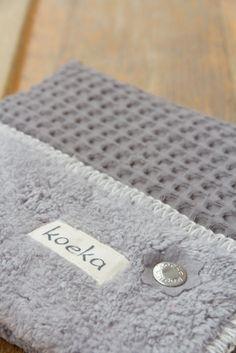 Our old time favourite: waffle! Koeka Oslo blanket | Koeka webshop