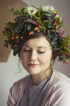 flower crown portraits | by michelle young