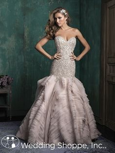 Allure Couture Bridal Gown C346