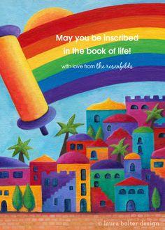 Jerusalem Rainbow designed by Laura Bolter on pingg.com
