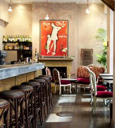 Part of the Vue de Monde empire, Bistro Vue is as pretty as a Parisian picture, paying particular attention to the nuances of French cuisine. Dining options abound at this popular Melbourne restaurant.